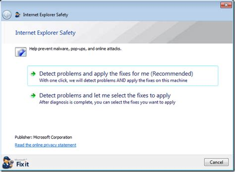 apply to fixer how to use microsoft fix it center to fix windows problems and errors