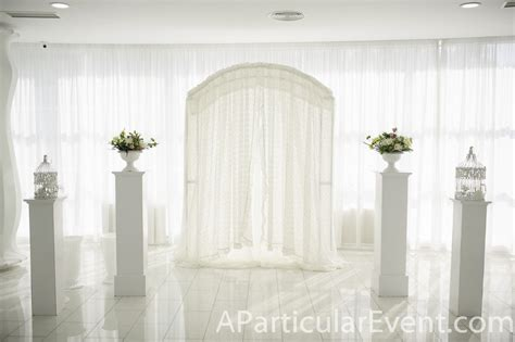 wedding arch draping wedding decoration backdrop ceiling draping arch column