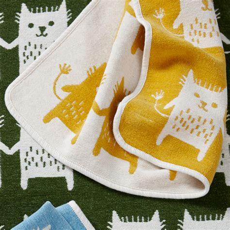 Decke Katze by Klippan Baby Decke 70x90cm Katze