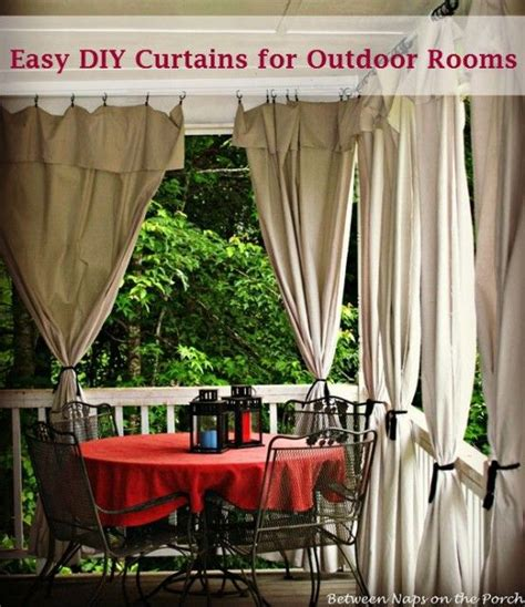 make your own outdoor curtains make your own patio curtains from drop cloths patio