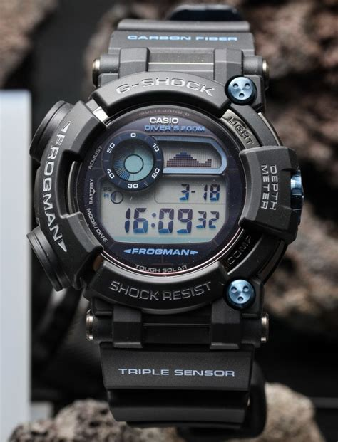 Kaos Gshock Frogman casio g shock frogman gwf d1000 on the ultimate diving tool ablogtowatch