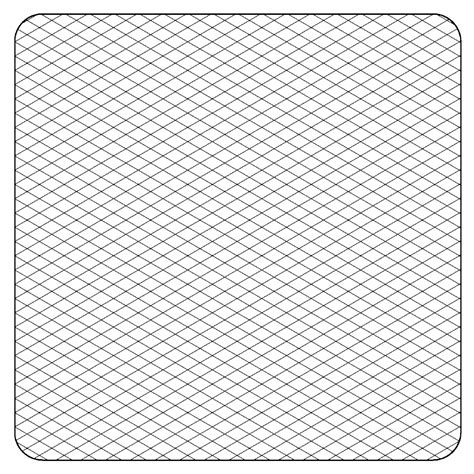 isometric grid template printable isometric graph paper for artists