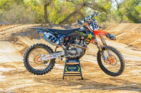 motocross racing 2014 racing caf 232 ktm sx 450f team rockstar energy racing ktm