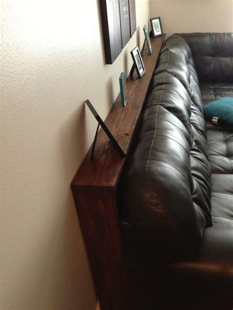 narrow table for behind couch behind couch couch table and couch on pinterest