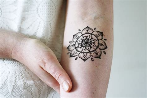 where to get temporary tattoos mandala temporary temporary tattoos by tattoorary