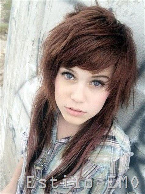 imagenes de peinados tipo emo cortes de pelo y peinaos emo para mujeres
