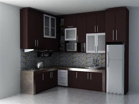 gambar kitchen set minimalis terpopuler rumah impian