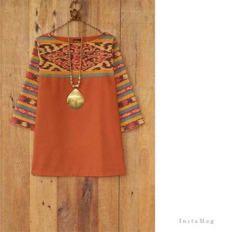 Dress Batik Tulis Kombinasi 1000 images about model batik on batik dress kebaya and indonesia