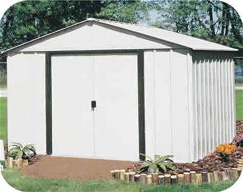 Aluminum Sheds by Arlington 10x12 Arrow Metal Storage Shed Kit Ar1012