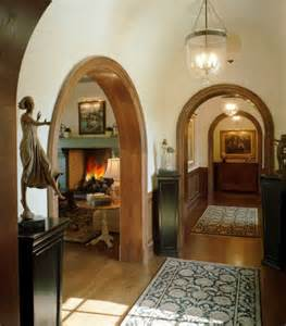 interior archways on brick interior post and beam and architectural salvage