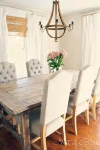 Dining Room Farm Tables Rustic Chic Dining Room Peace In Spirit In Inner Spaces