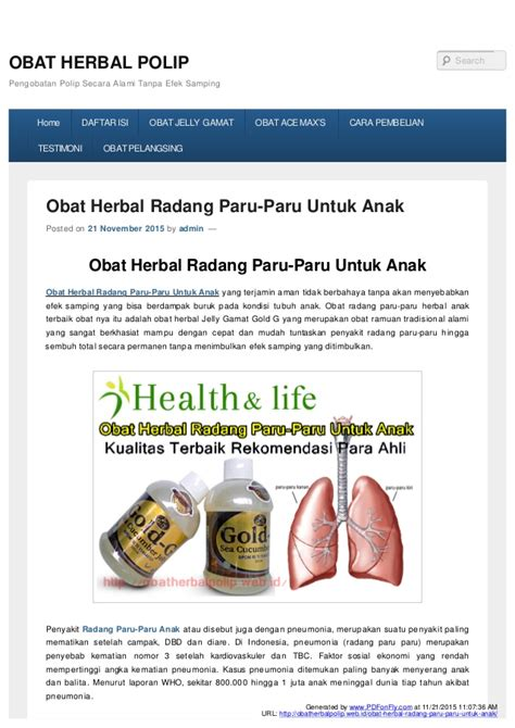 Mengobati Radang Paru Paru Tipus Tumor Stroke Epilepsi Asmadll obat herbal untuk the knownledge