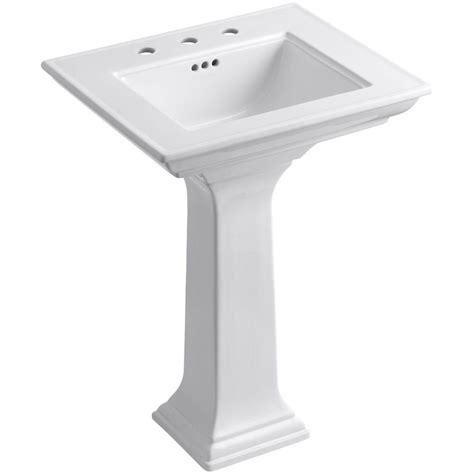 Kohler Pedastal Sink by Kohler Memoirs Stately Ceramic Pedestal Bathroom Sink