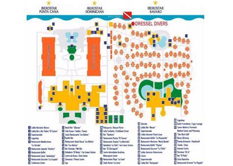 iberostar resort map hotel iberostar dominicana in punta cana