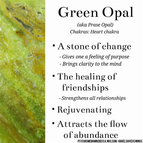 white opal meaning green opal meaning stones and gems