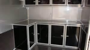 trailer cabinets sportsman ii aluminum trailer cabinet