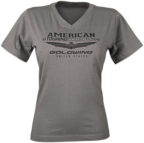 discount motorcycle clothing 28 56 honda womens goldwing touring collection v neck t