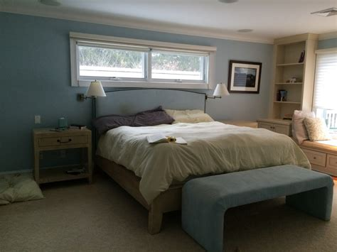 boring bedroom makeover springtime blues serene guest bedroom mini makeover