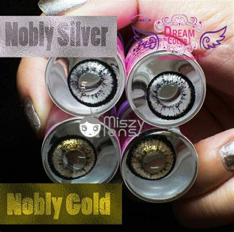 Softlens Dreamcon Nobly jual softlens nobly gold nobly silver free ongkir