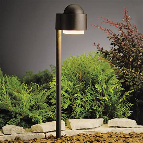 Landscape Path Lighting Kichler Lighting 15360azt Landscape Simplicity Side Path Garden Pathway Light Atg Stores