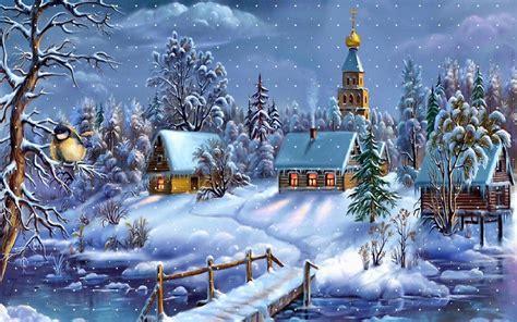 wallpaper christmas town christmas town wallpaper