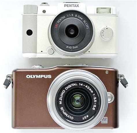 Kamera Olympus E Pm1 test pentax q vs olympus e pm1 kamera bild