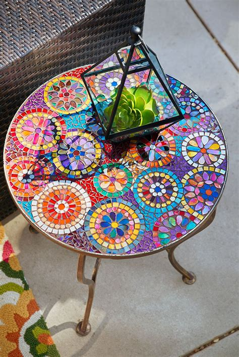 Patio Table Mosaic 25 Best Ideas About Mosaic Table Tops On