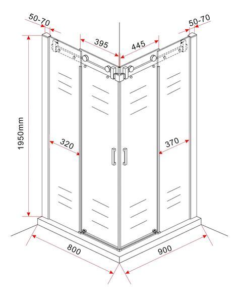 duschkabine ohne duschtasse duschkabine area 80 x 90 x 195 cm ohne duschtasse alphabad