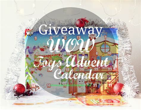 Wows Giveaway - giveaway wow toys advent calendar a slice of my life wales