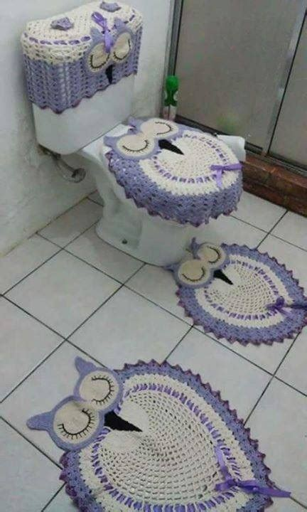 jogo de almofada de barbante jogo de banheiro tapete em croch 234 barbante 3 pe 231 as r