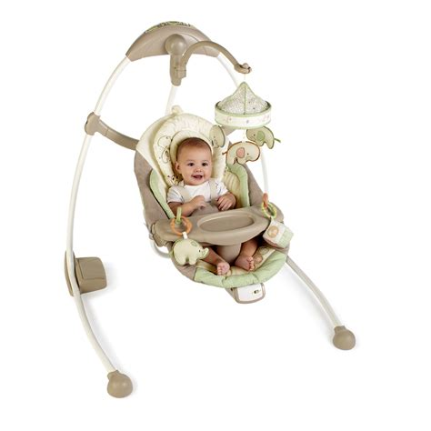 ingenuity baby swing manual what s under our tree bright starts ingenuity cradle and