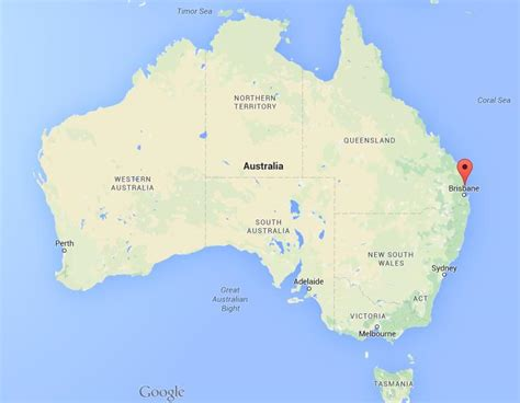 australia map location where is caloundra on map australia world easy guides