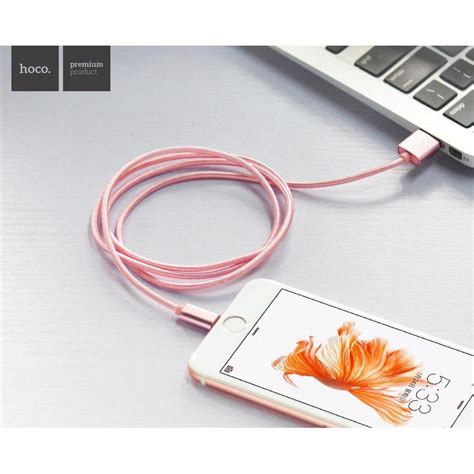 Hoco Lightning Cable For Iphone 6655s hoco x2 lightning braided cable for iphone golden