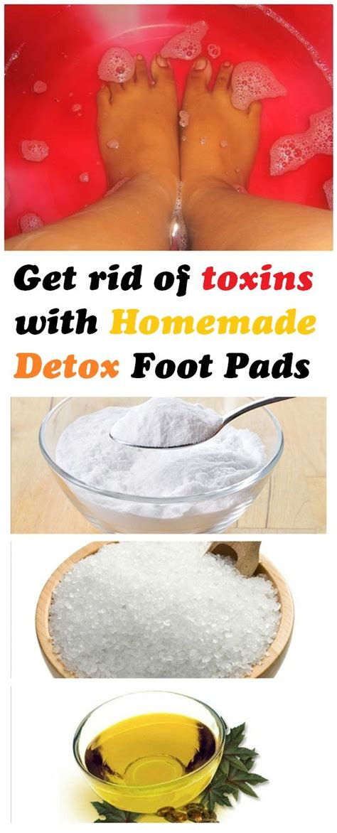 Home Recipe For Detox Foot Pads get rid of toxins with detox foot pads
