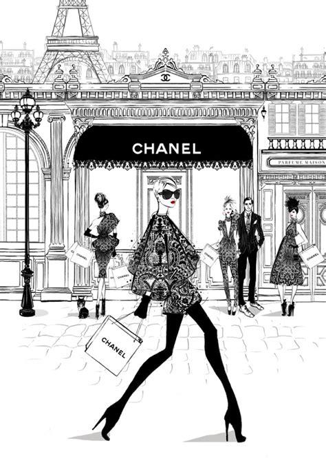 Megan hess paris inspired fashion illustrations the interiors addict