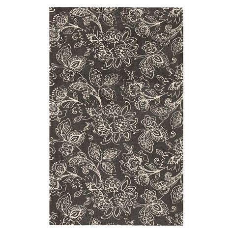 waverly floral flatweave rug ebay