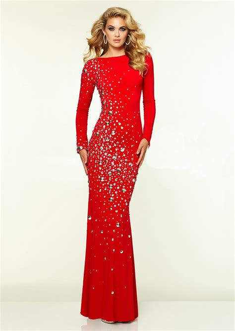 black and white long sleeve red dress long sleeves crystal beaded open back black white red long