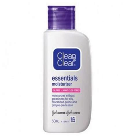 Harga Clean Clear Essential Moisturizer clean clear moisturizer essentials 50ml skin care