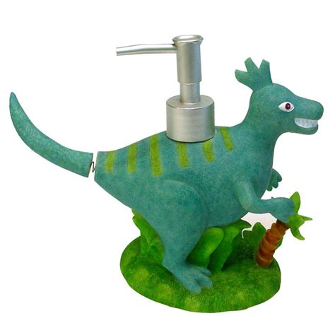 dinosaur bathroom decor dinosaur friends lotion pump home bed bath bath