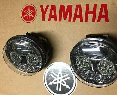 yamaha kodiak   led headlights conversion kit pair usa  ebay