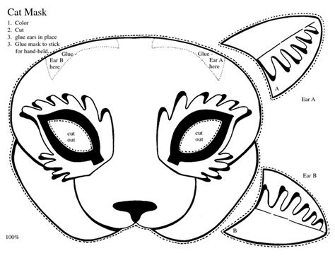 caterpillar mask template printable 70 best images about cat mask on pinterest cats