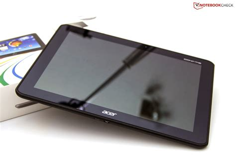 Tablet Iconia Acer review acer iconia tab a510 tablet mid notebookcheck net