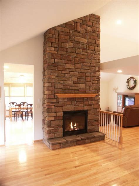 Rustic Brick Fireplace by Interior Design A New Gas Beautiful Fireplaces