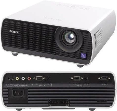 Proyektor Sony Vpl Ex100 sony vpl ex100 xga portable lcd projector 2300 ansi lumens image device 0 63 quot 16 0mm x 3