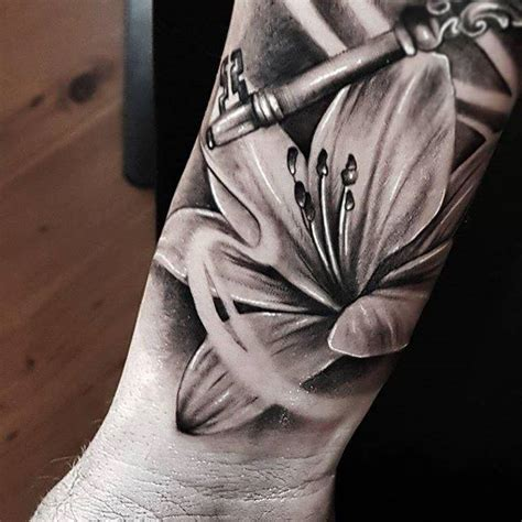 67 realistic lily tattoos with meaning