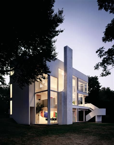 A Frame Building Plans by Smith House Richard Meier Amp Partners Architects
