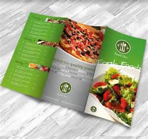 restaurant brochure design exles for inspiration