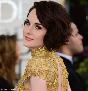 lady mary crawleys new hair style the 163 25 000 makeover that says michelle dockery s leaving