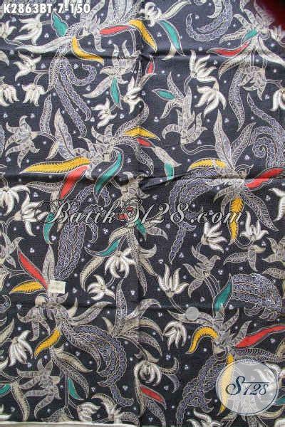 Kain Batik Katun Tulis Bagus Murah koleksi kain batik proses kombinasi tulis terbaru bahan