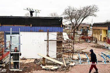 roofing ssf former speakeasy restaurant in flushing is facing